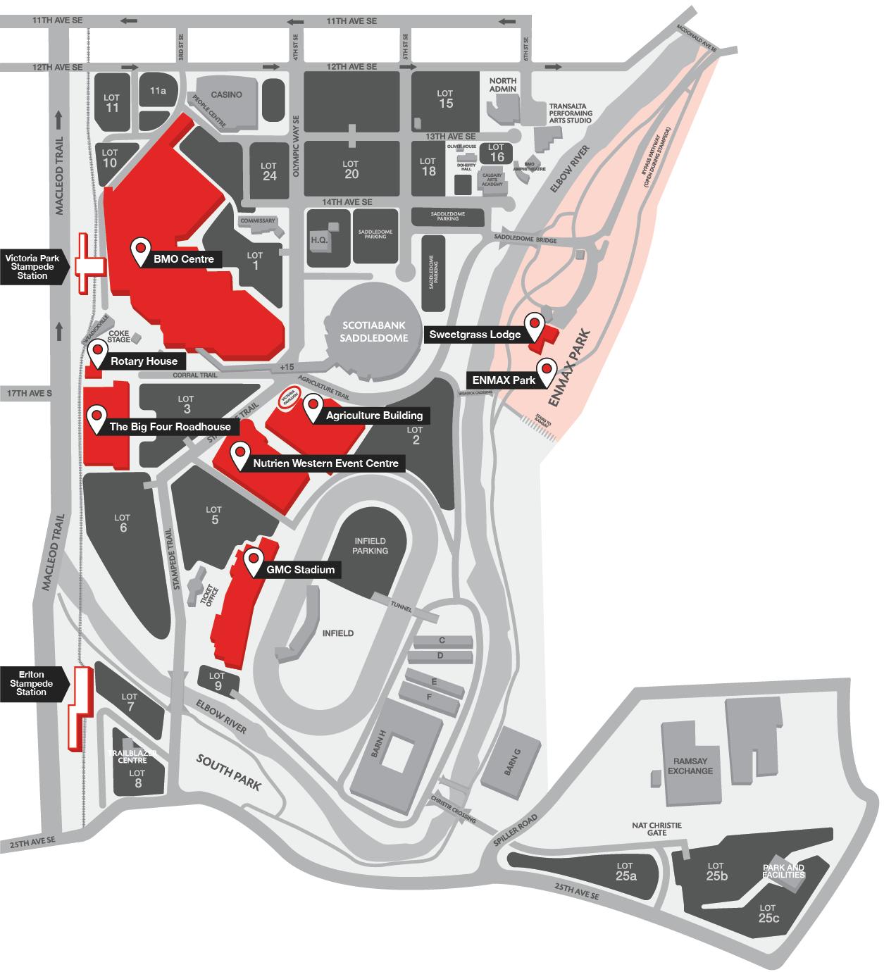 Stampede Map